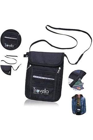 Travella RFID-Reisepasshülle, Diebstahlschutz für Dokumente und Reisepass