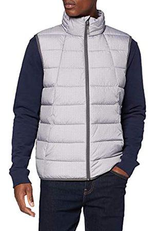 TOM TAILOR Herren Lightweight Outdoor Jacke, 23942-dark Grey Printed me