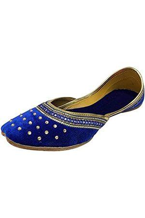 Step N Style Punjabi Jutti Indische Schuhe Flache Flop Khussa Schuhe Salwar Kameez Sandalen