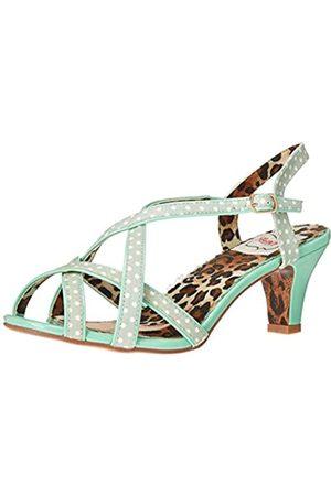 Bettie Page Damen BP250-GRACIE Sandale mit Absatz