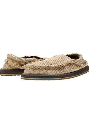 Sanük Chiba Hemp Loafer, Herren, Größe 37, Braun (Natur)