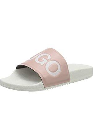HUGO BOSS Damen Time Out Slide-AR Slipper, Light/Pastel Pink683