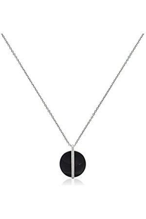 Ceranity Halskette mit Anhänger Sterling- 925 Zirkonia 45 cm 1-72/0026-N