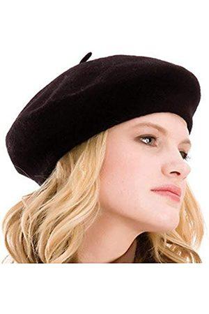 Kimming Baskenmütze für Damen, 100 % Wolle