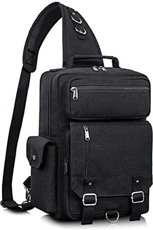Leaper Retro Messenger Bag Canvas Schulterrucksack Reiserucksack Sling Bag