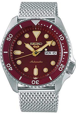 Seiko 5 Suits Herren-Uhr Edelstahl mit Metallband SRPD69K1