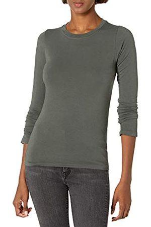 Graham & Spencer Damen Zofina Gauzy Whisper Classics Longsleeve Crewneck Tee T-Shirt