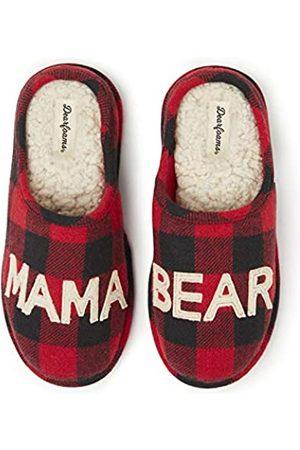 Dearfoams Damen Women's Mama Bear Slipper Hausschuh