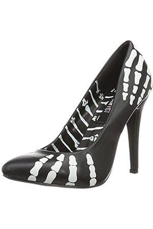 Iron Fist Damen Grave Robber Point Heel Pumps, (Black)