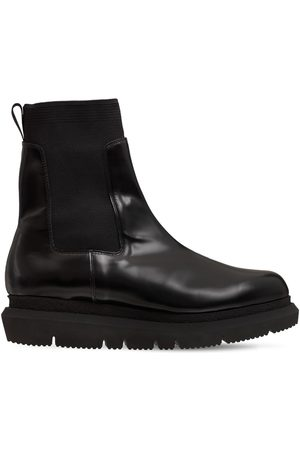 SACAI Herren Chelsea Boots - Chelsea-stiefel Aus Leder