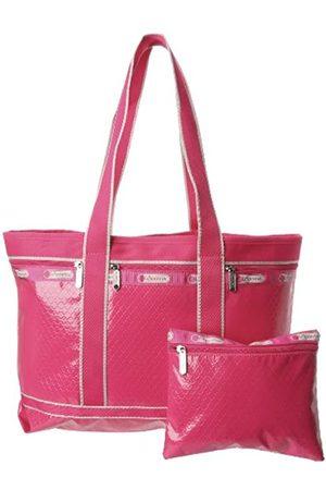 LeSportsac Transporttasche, mittelgroß, Pink (Raspberry Debossed)