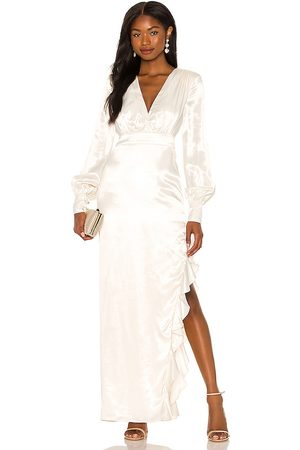 MAJORELLE Pearl Gown in . Size M, S, XL, XS, XXS.
