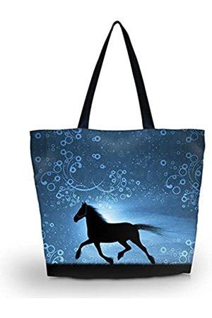 newplenty Strandtasche, Reisetasche, Einkaufstasche für Damen, faltbar, wasserdicht