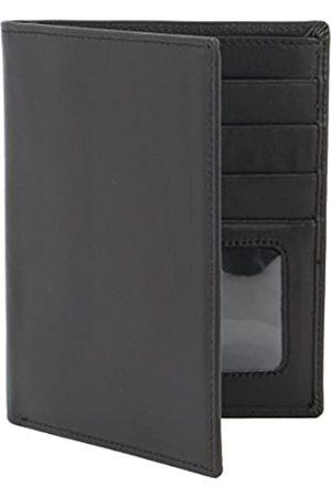 myBitti Passport Wallet Executive Boarding Pass Holder Black