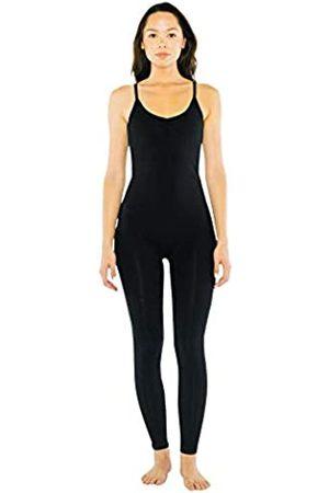 American Apparel Damen Cotton Spandex Sleeveless Unitard Bodystocking