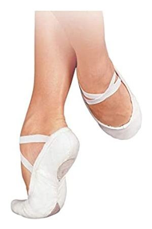 SANSHA Damen Geteilte Ledersohle Weiche Ballettschuhe 83x Pro-fit Flach