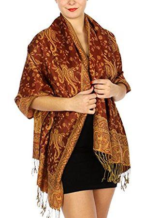 SERENITA Pashmina-Schal für Damen, groß, Kaschmir-Gefühl, wendbar
