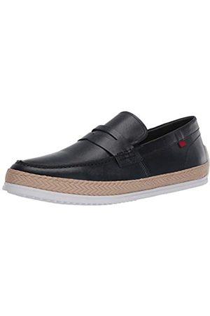 Marc Joseph New York Herren Leder-Schuhe mit Penny-Seil Detail Boot, Blau (Nappa in Marineblau)