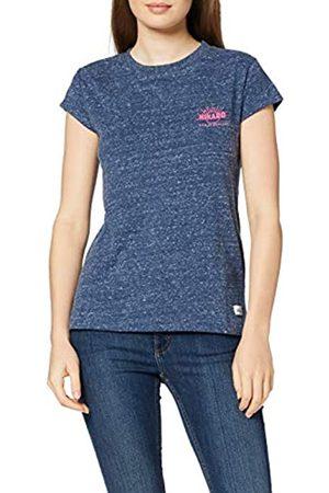 HIKARO Amazon-Marke: Damen T-Shirt mit rundem Ausschnitt, 38