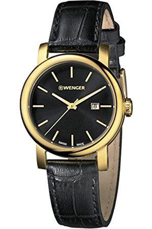 Wenger Damen Analog Quarz Uhr mit Leder Armband 01.1021.121
