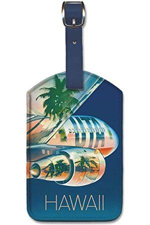 Pacifica Island Art Gepäckanhänger Hawaii aus Kunstleder