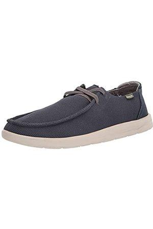 Sanük Herren Shaka Mesh Sneaker, Marineblau