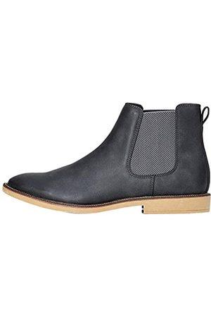 FIND Marsh Herren Chelsea Boots Stiefel, (Charcoal Nubuck Look)