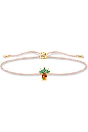 Thomas Sabo Damen Armbänder - Armband Little Secret Ananas gold mehrfarbig