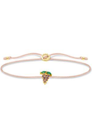 Thomas Sabo Damen Armbänder - Armband Little Secret Weintraube gold mehrfarbig