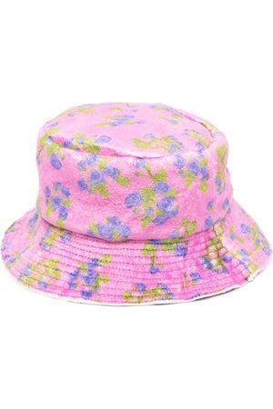 Natasha Zinko Damen Hüte - Fischerhut mit Blumen