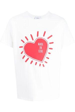 Ports V T-Shirt mit Herz-Print