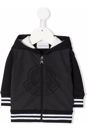 Moncler Logo-print bomber jacket