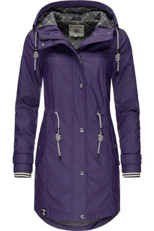 Peak Regenjacke »L60042« stylisch taillierter Regenmantel für Damen