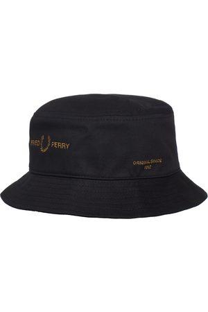 Fred Perry Herren Hüte - Branded Twill Bucket Hat