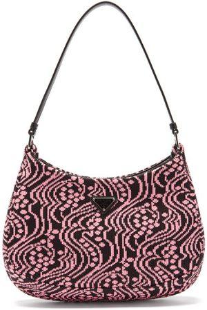 Prada Cleo Jacquard-nylon Shoulder Bag