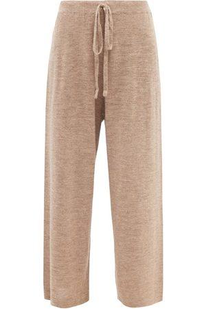 Lauren Manoogian Facil Alpaca-blend Wide-leg Trousers