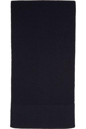 Maison Margiela Herren Schals - Navy Wool Scarf