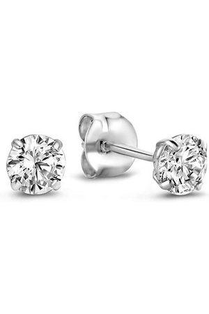 Isabel Bernard Damen Uhren - Ohrringe Saint Germain De L'Echaude 14 Karat Ear Studs With silber