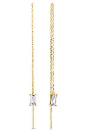 Isabel Bernard Damen Uhren - Ohrringe Baguette Fey 14 Karat Drop Earrings gold