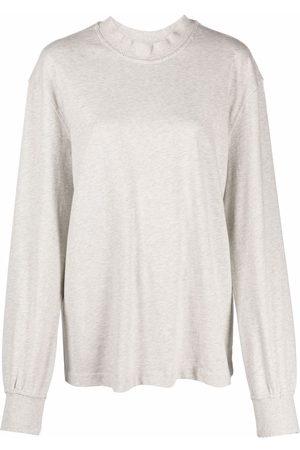 HAN Kjøbenhavn Damen Sweatshirts - Pullover in Distressed-Optik