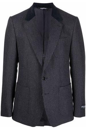 Dolce & Gabbana Herren Blazer & Sakkos - Sakko mit Kontrastrevers