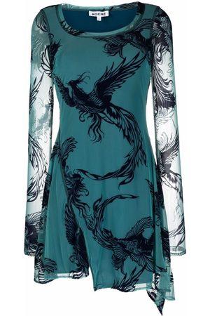 KOCHÉ Damen Freizeitkleider - Kleid mit grafischem Print