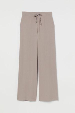 H&M Damen Hosen & Jeans - Gerippte Hose
