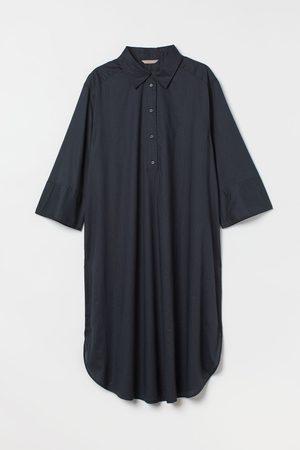 H&M + Blusenkleid