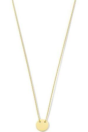 Isabel Bernard Halskette Monceau Jeanne 14 Karat Necklace With Coin gold