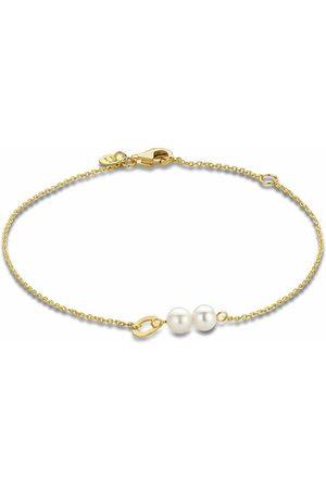 Isabel Bernard Damen Uhren - Armband Belleville Luna 14 Karat Bracelet With Freshwater gold
