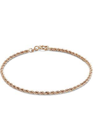 Isabel Bernard Armband La Concorde Violette 14 Karat Bracelet Twist rosa