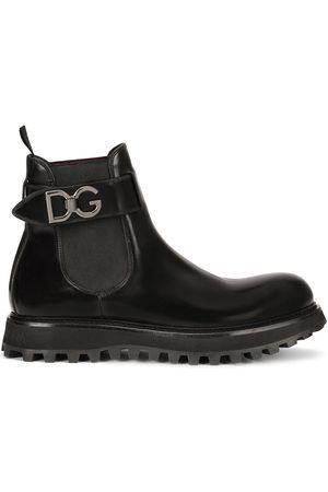 Dolce & Gabbana Chelsea-Boots mit Riemen