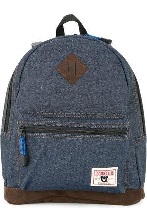 Miki House Jungen Cropped - Jeans-Rucksack mit Logo-Patch