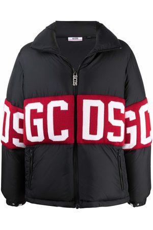 GCDS Gefütterte Jacke mit Logo-Print